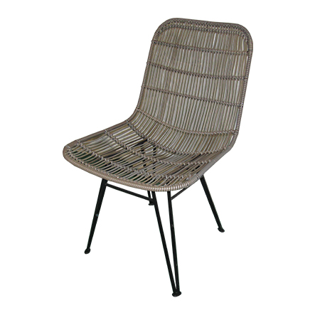 Java Egg Chair Natural Rattan Chair With Black Iron Frame In 2018