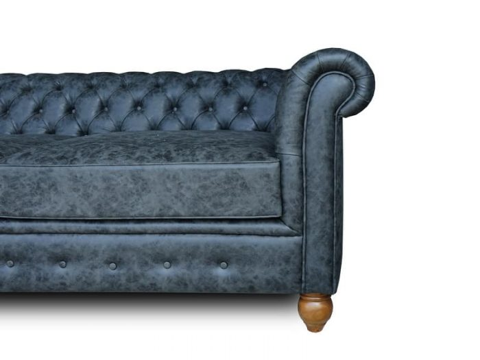 Chesterfield sofa synthetic leather